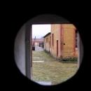 Pohled z cely na ženském dvoře