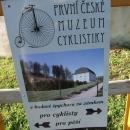 Ve špýcharu zámku v Nových Hradech je otevřeno První české muzeum cyklistiky