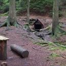Voletínská studánka uprostřed lesů a skal