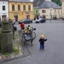 Víťa na náměstí v Poličce