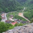Výhled z věže na Svojanově