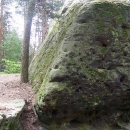A tento kámen se jmenuje Stará cikánka