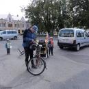 Autem jsme se posunuli do Týniště nad Orlicí, které se tak stává výchozím bodem výletu
