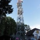Na kopci Osičina, v nadmořské výšce 416 metrů, se nachází rozhledna s vyhlídkovou plošinou ve 33 metrech nad zemí