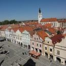 Pohled z třeboňské Radniční věže
