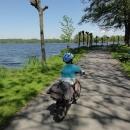 Cyklostezka podél rybníka Hejtman