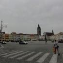 Náměstí Přemysla Otakara II. je jedním z největších náměstí v ČR