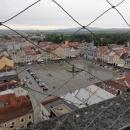 Pohled ze 72 metrů vysoké Černé věže