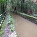 Přes most nevede silnice, ale proudí voda