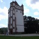 Bílá věž na zámku v Hradci nad Moravicí