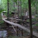 Ideální místo pro další trampskou chatu
