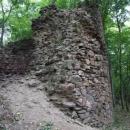 Torzo věže na Kraví hoře