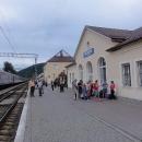 Nádraží ve Volovci