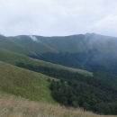 Výhled na nejvyšší horu Stij