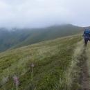 Bez batohů letíme na vrchol Stije (v mracích)
