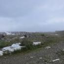 Ruiny radarové stanice na Stiji