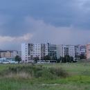 A o pár chvil později - Poprad a nad Tatrů sa blýská....