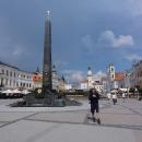 Bánská Bystrica má celkem pěkné náměstí.