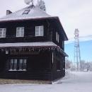 Na chatu Maxe Švabinského na 601 metrů vysokém Kozlovském kopci jsme se fakt už těšili