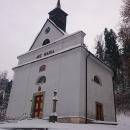 Míjíme kapli P. Marie Pomocné na Horách