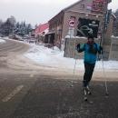 Na lyžích i přes město, přece to nesundáme!