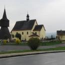 Rtyně v Podkrkonoší - kostel sv. Jana Křtitele se zvonicí