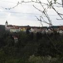 Pohled na Nové Město nad Metují z okolních kopců