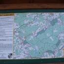Mapa celého vojenského prostoru se zpřístupněnými oblastmi