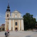 A to už jsme popojeli do Hodonína – kostel sv. Vavřince na náměstí