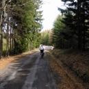 Příjemná asfaltka nad Třebovskými stěnami