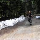 Martin na cyklotrase Třebovskými stěnami