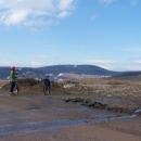 V sedýlku nad Výprachticemi (před námi Suchý vrch)