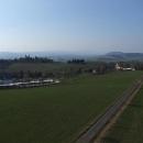 Výhled z Valu na Hedeč