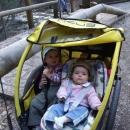 Víťa a Šárka jsou ve vozíku spokojeni