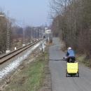 Nedávno objevenou cestou do Letohradu podél kolejí