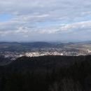 Výhled na Ústí