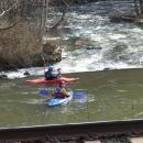 Vodáci na Orlici využívají jarního tání
