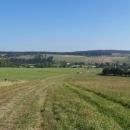 Krajina kolem Orlického Záhoří (na pozadí polské Bystřické hory)