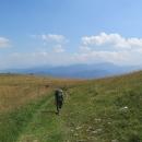 A loučky s výhledy! Toto je směrem k Nízkým Tatrám.