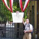 Pavel před branami Schönbrunnu
