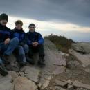 Vrcholové foto všech tří účastníků výpravy