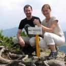 I Katka s Petrem se nechali zvěčnit na dobytém vrcholu