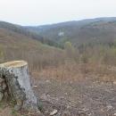 Markétina zkratka - ale je odsud pěkně vidět Býčí skála