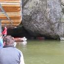 Prohlídka Punkevních jeskyní byla bohužel přerušena