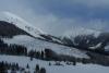 Sněžka se Studniční horou - tady počasí ještě slibuje hezký den