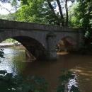 Kamenný most přes Blanici blízko Domašínské brány