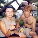 Skončili jsme v Dřevčicích na pivě :-)