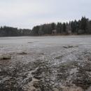 Vyžlovský rybník je vypuštěný