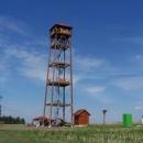 Rozhledna Vrbice- Nadmořská výška nic moc (444m.n.m.)...