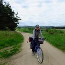 Třebíč necháváme za zády a míříme k severu přírodním parkem Třebíčsko
